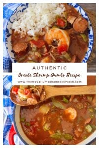 This amazingly flavorful Authentic Creole Shrimp Gumbo recipe uses the masterpiece of all sausages spicy andouille sausage with shrimp, chicken, and traditional rice. The method is so simple and straightforward; you're going to wonder why you have waited so long to make it.