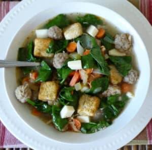 #Italian #Wedding #Soup #Recipe
