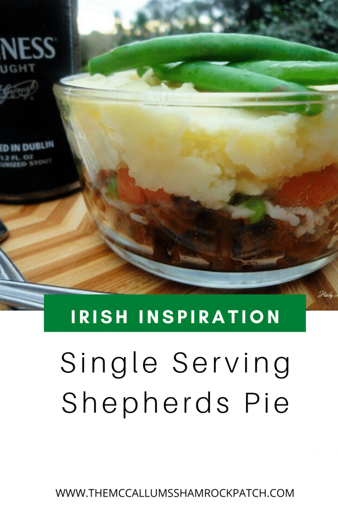 Single Serving Shepherds Pie