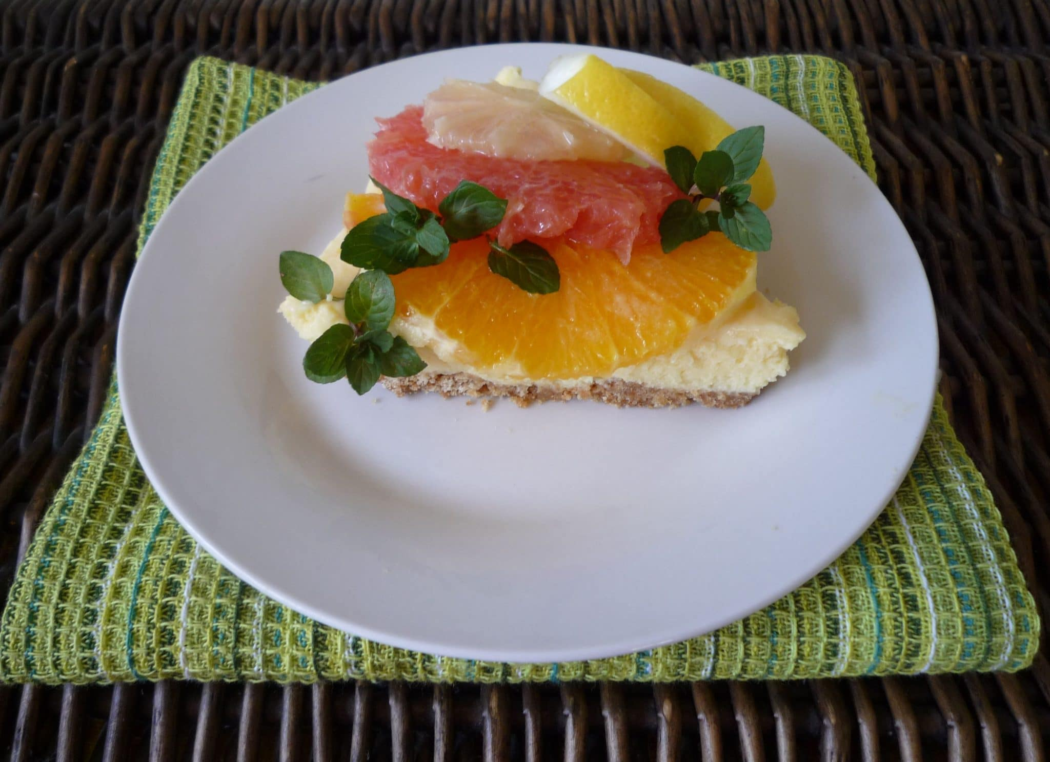 Haines City, Florida Citrus Cheesecake - Proudly Support your Local Farmers !