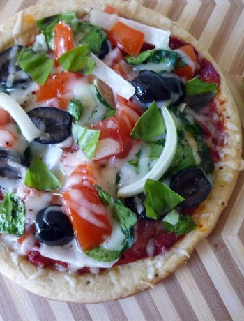 Italian-Style Pizza with Asiago