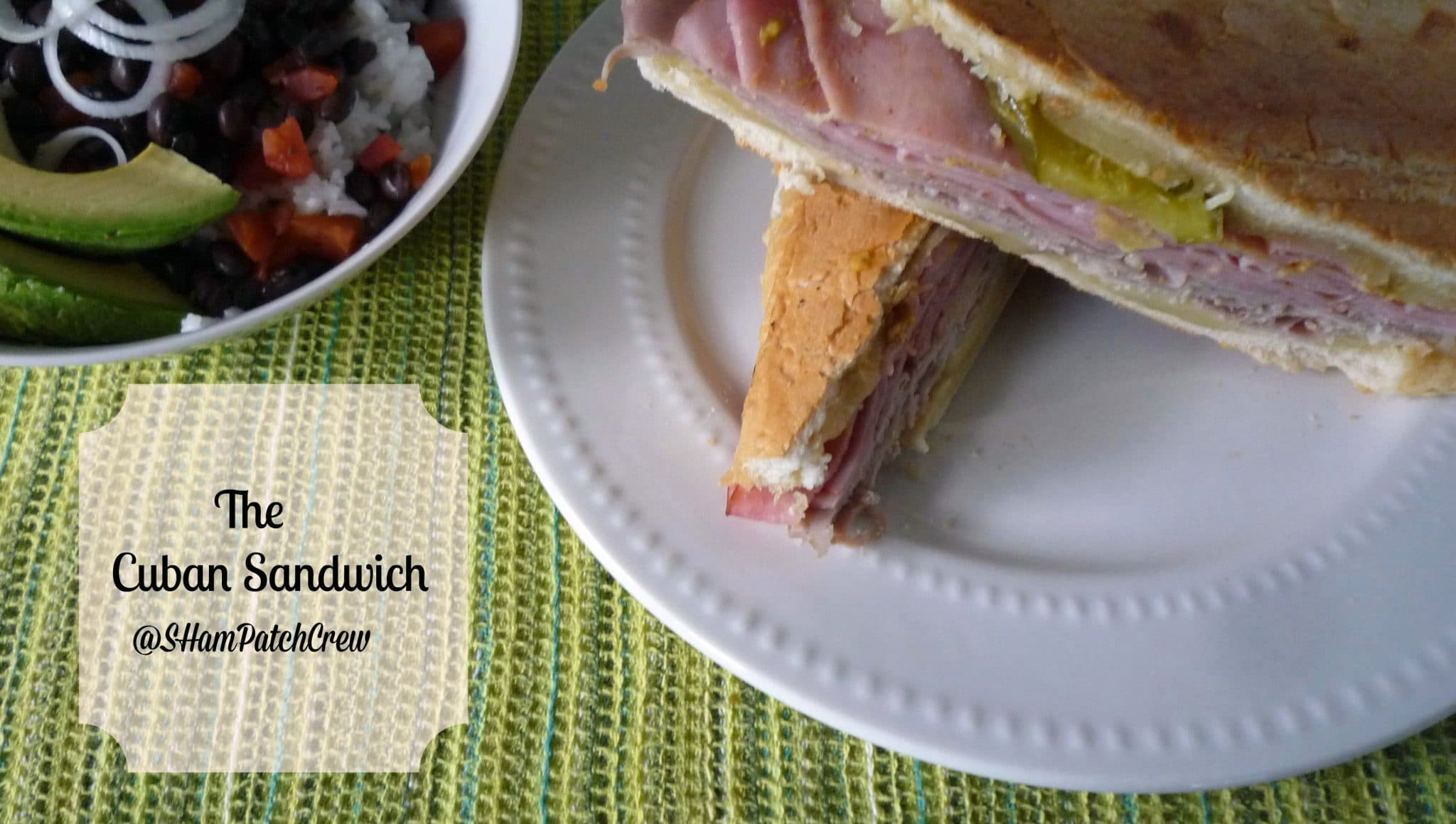 #Cuban Sandwich, Cuban Pressed Sandwich, #Mixito