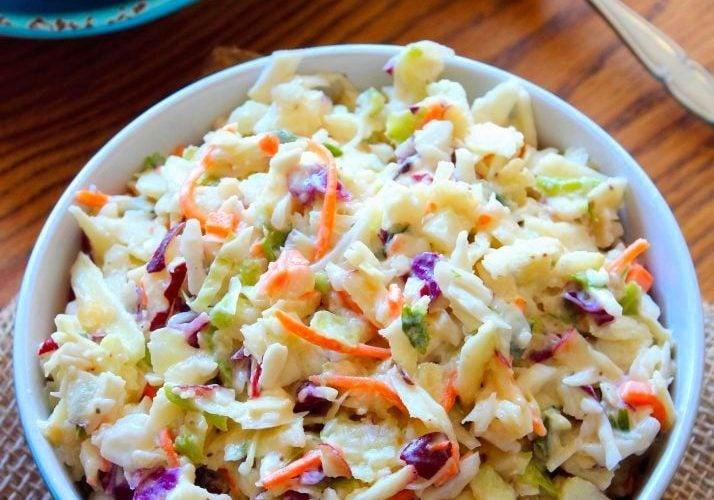 Apple-Cabbage Coleslaw