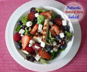 #Patriotic Salad
