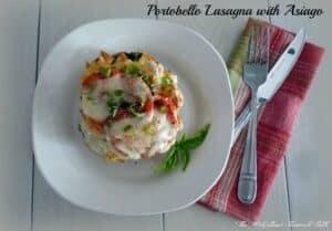 #Portobello Lasagna and #Asiago