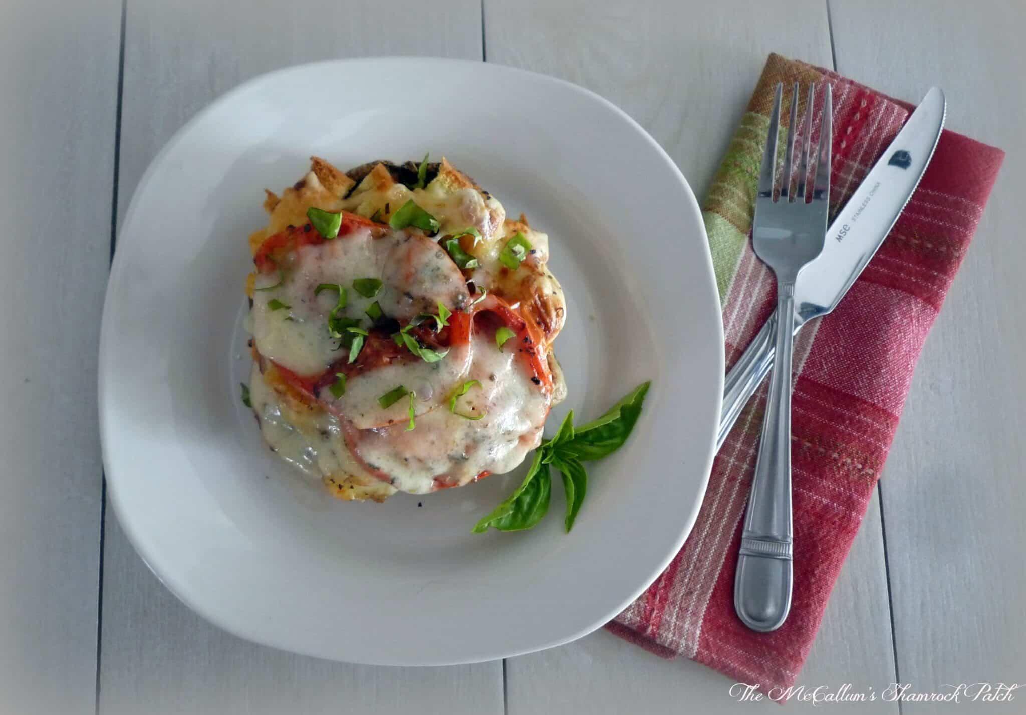 #Portobello #Lasagna with #Asiago