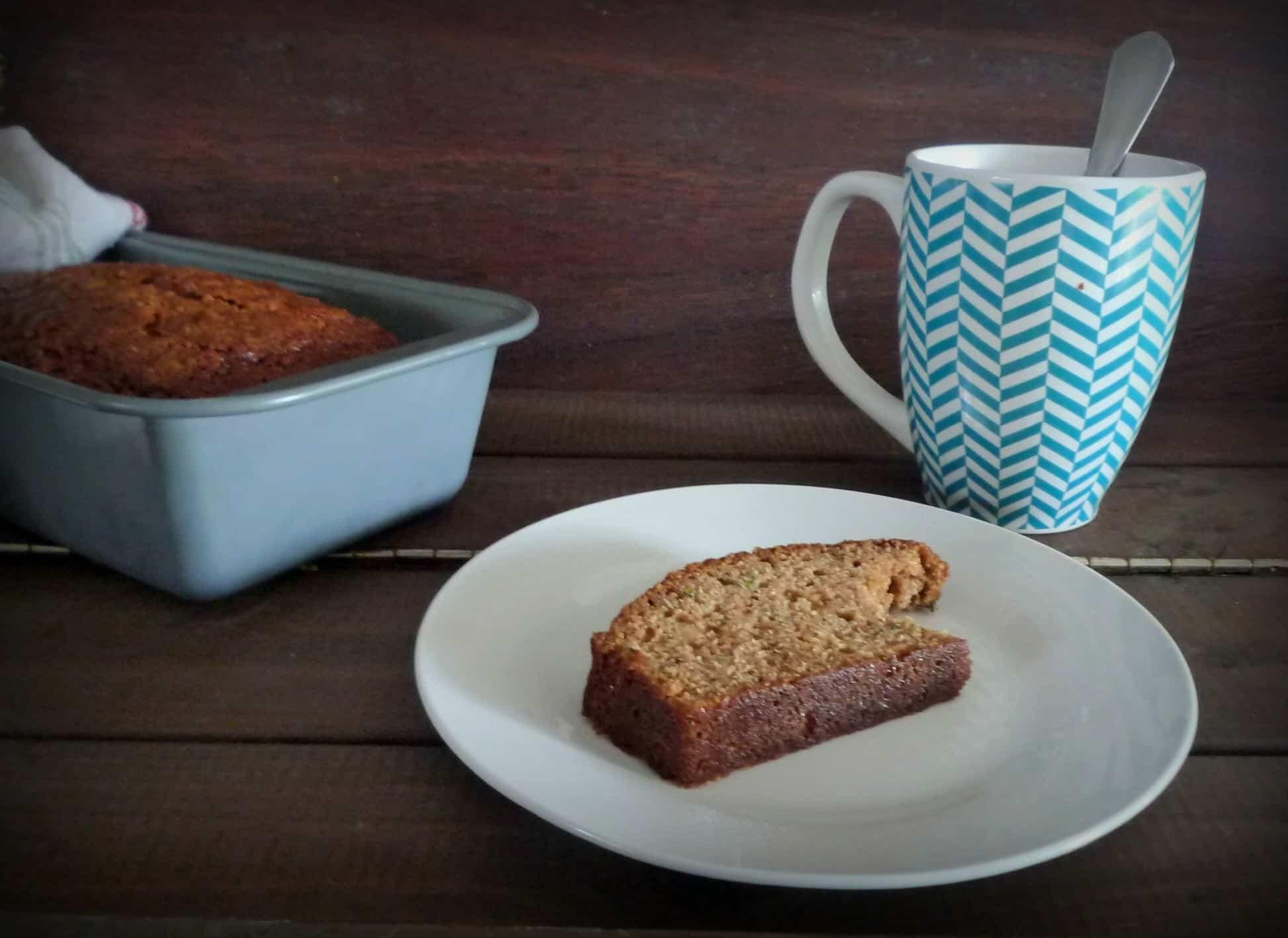 Dark and Rich Zucchini Bread  by The McCallum's Shamrock Patch Blog