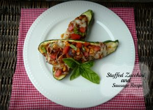Stuffed Zucchini with Sausage Recipe