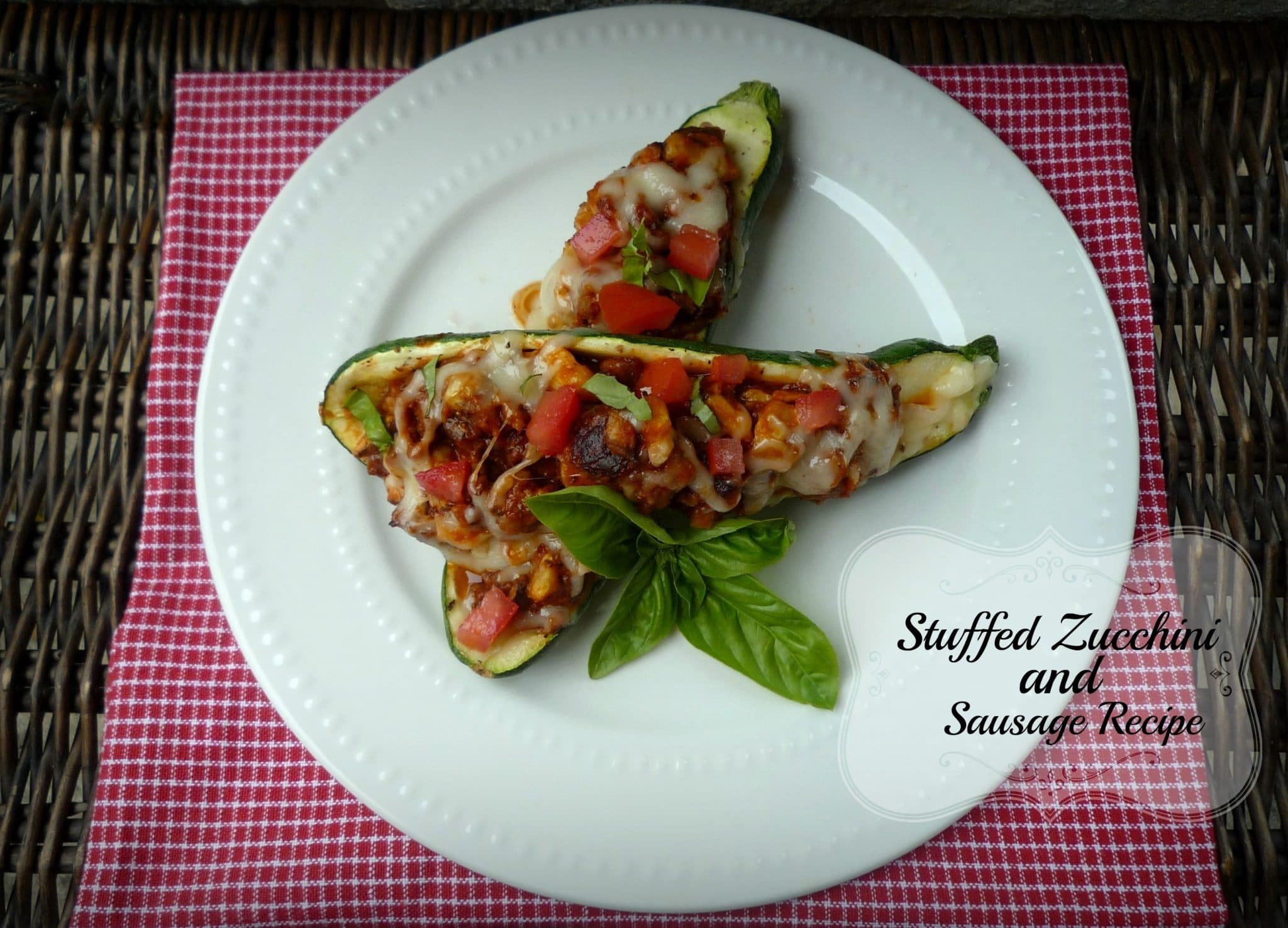 Stuffed Zucchini with Sausage Recipe