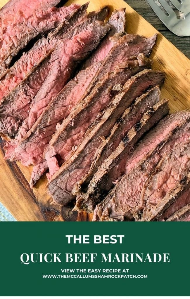 This Quick Beef Marinade does not contain any MSG  or additional Sugar other than from Natural Ingredients. For years, Asians and Polynesians, and a few others have used this little Secret. It's one of Nature's Most Natural Tenderizing Ingredients.