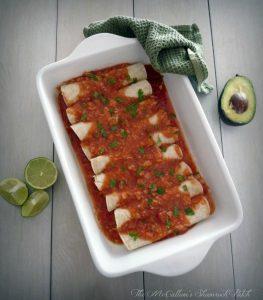 #chicken #Enchiladas with Red Sauce 1