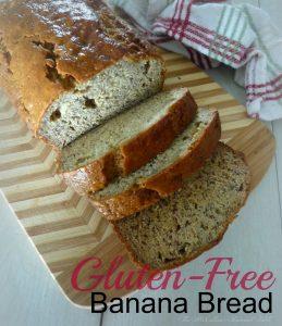 Gluten Free Banana Bread 1 July 15th 2014