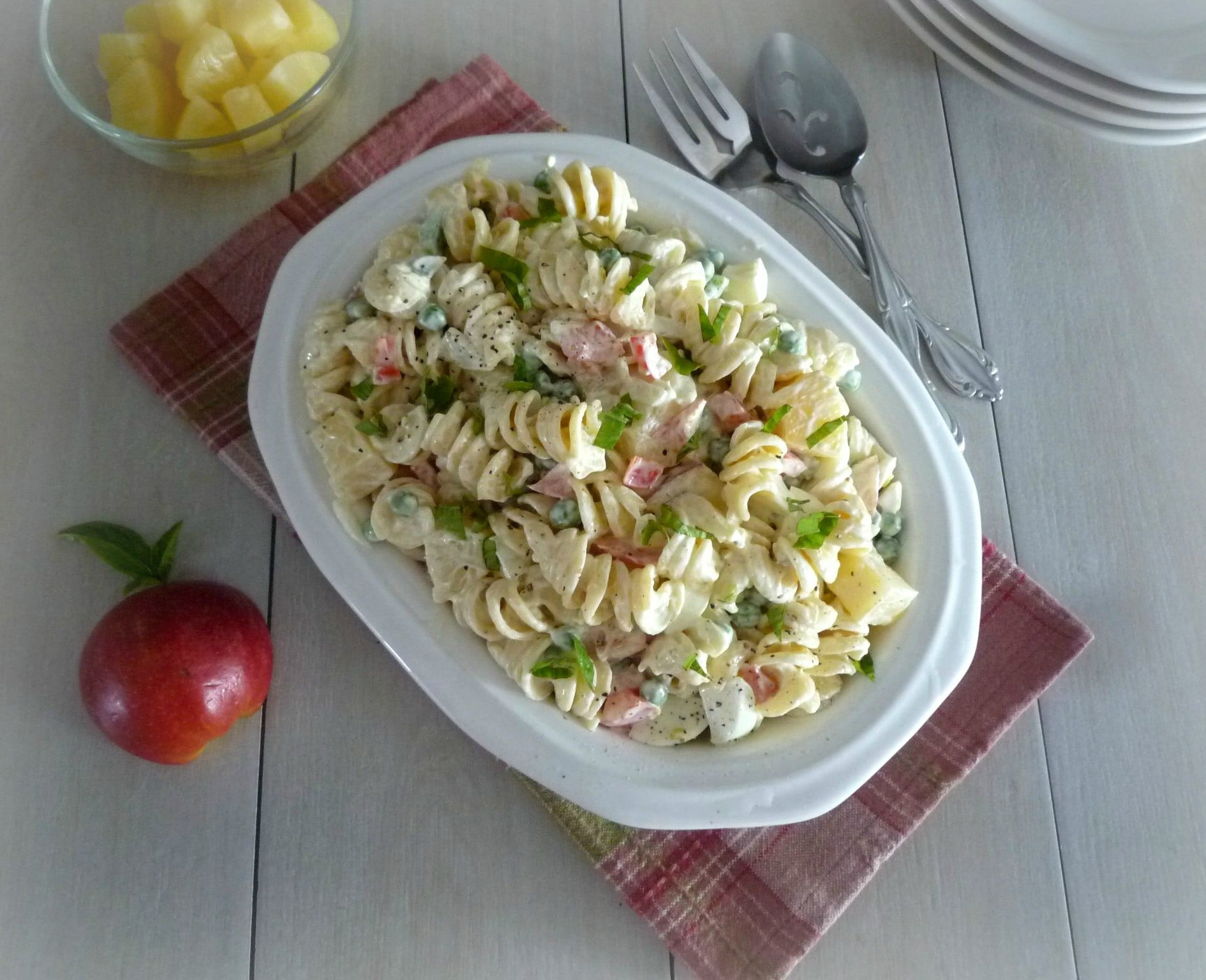 #Macaroni #Salad with #Fruit