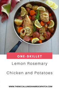 Lemon Rosemary Chicken and Potatoes