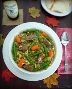 #YuenglingBeer #Beer #Beef #Barley #Soup #Vegtable #