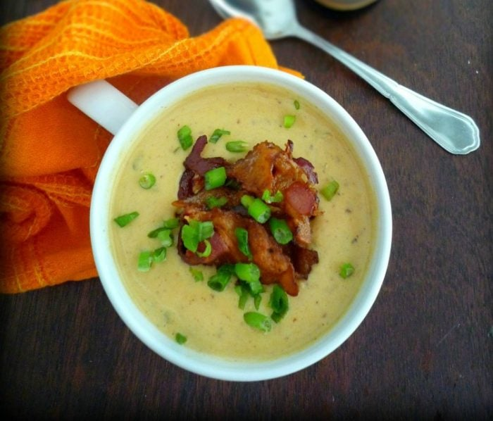 There's nothing like a wonderful steaming bowl of a Wisconsin Style Beer Cheese and Bacon Soup in the Fall. This delightfully sinful soup contains Wisconsin Style Cheddar, Amber Bock Beer, veggies, and Hickory Smoked Bacon in one delicious, warm and inviting bowl.