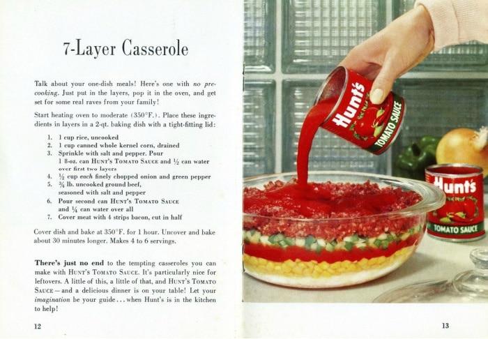 Vintage 7-layer Casserole