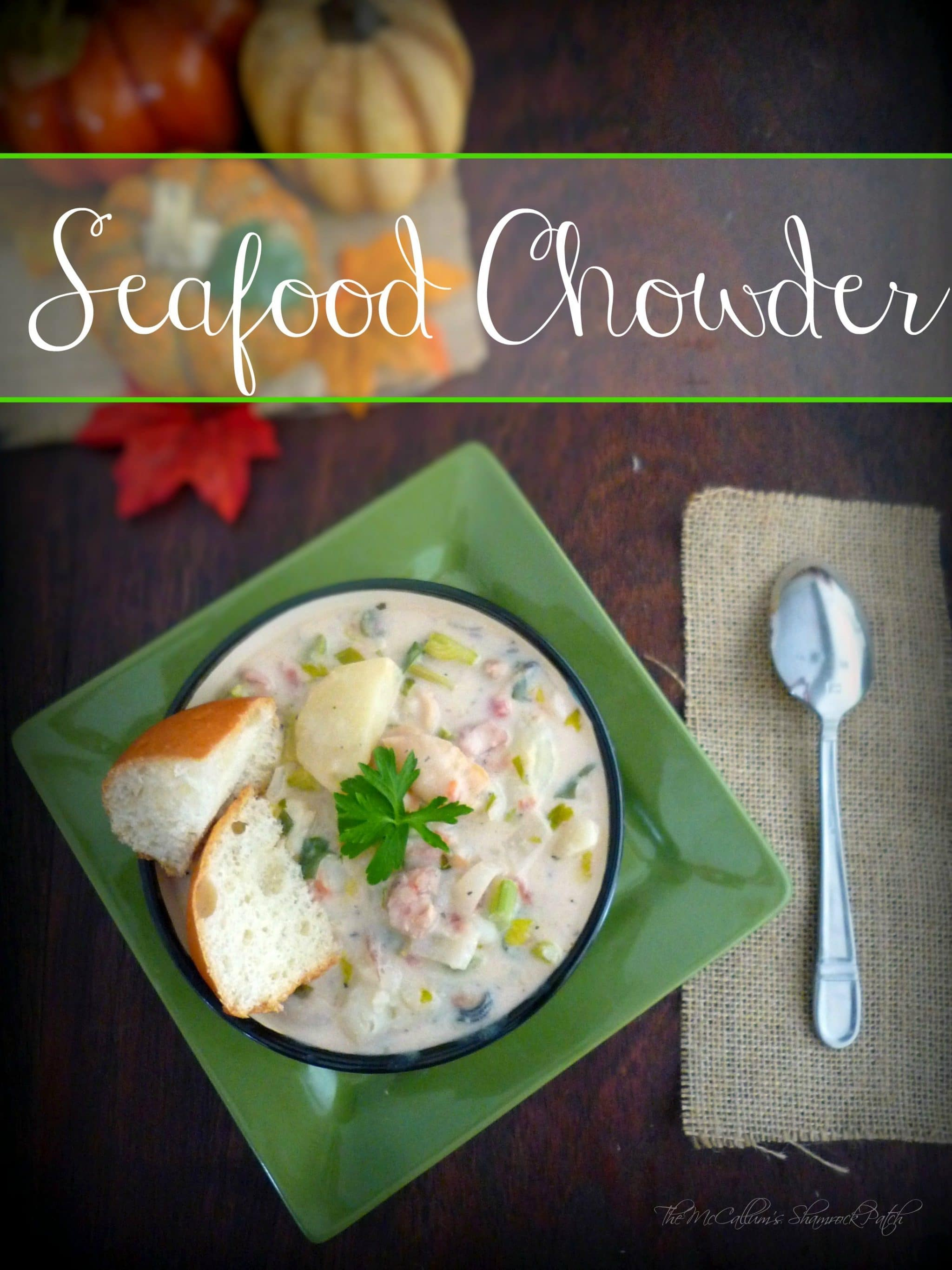 #seafoodchowder, #shrimp, #crab, #fish, #oysters, #clams