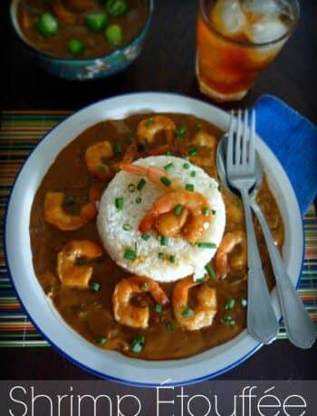 #NOLA #Shrimp #Étouffée #Cajun #Creole