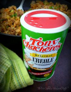 #DirtyRice #Rice #Tony Chachere #Creole