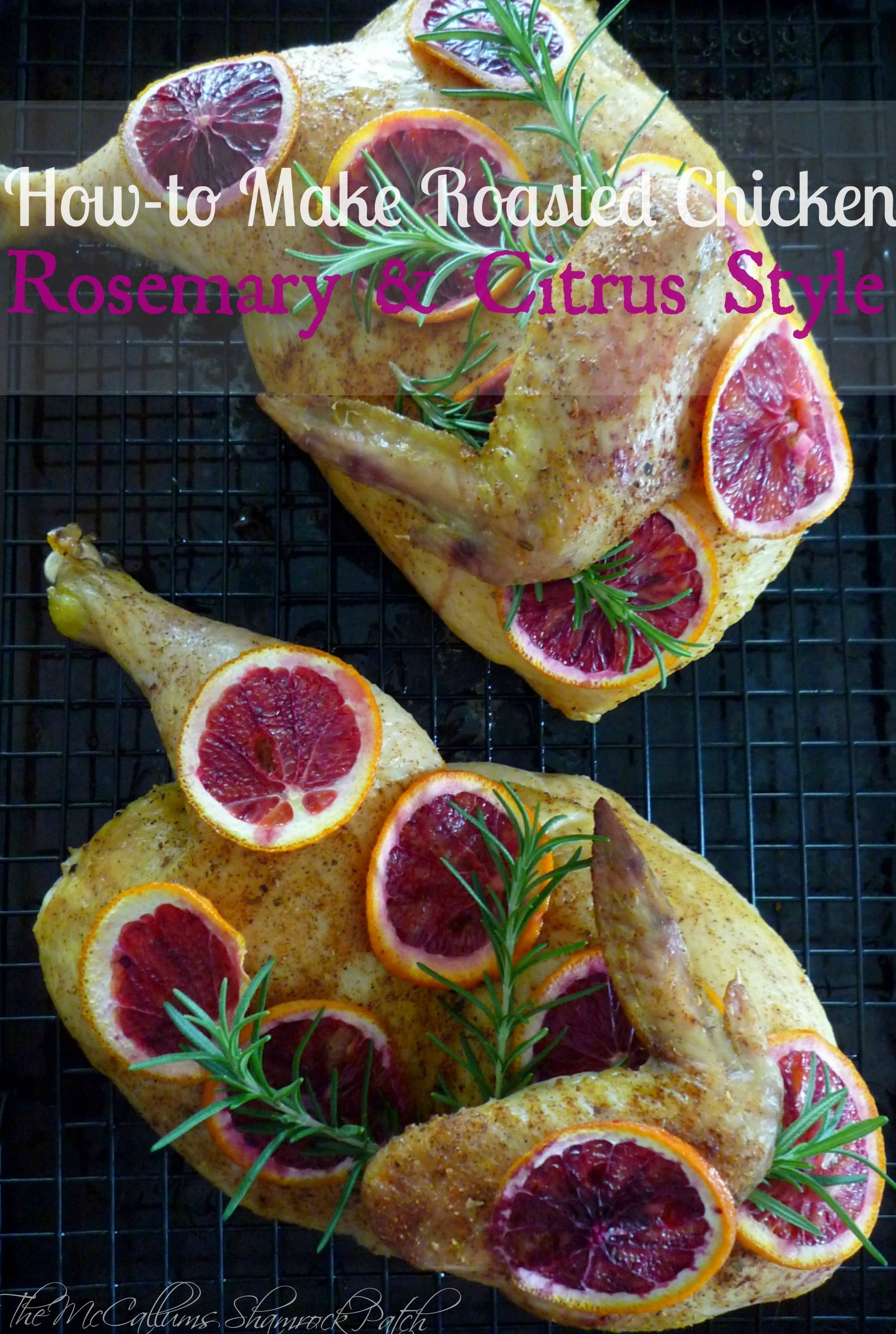 Chicken with Citrus and Rosemary