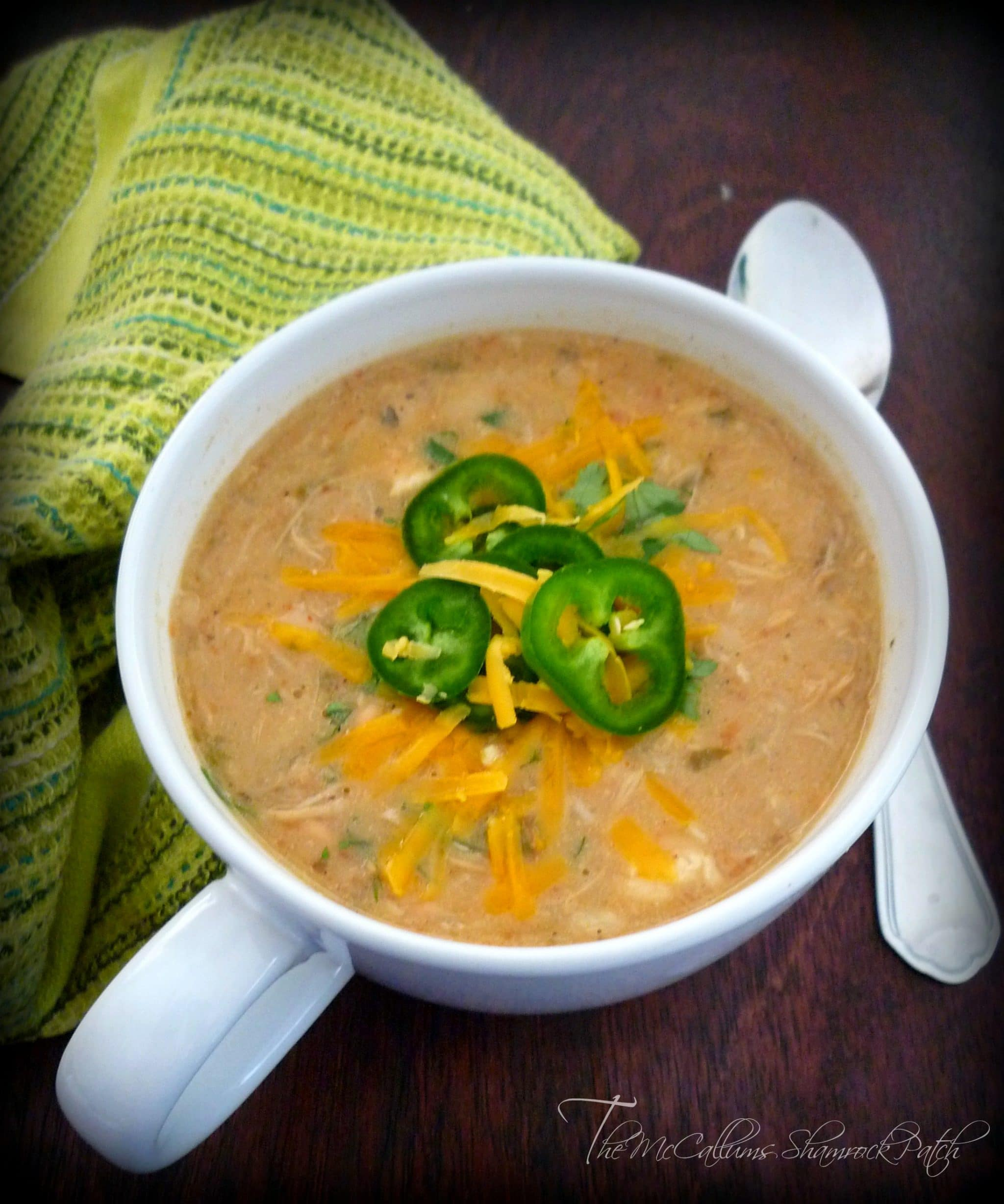 Southern White Bean and Chicken Soup