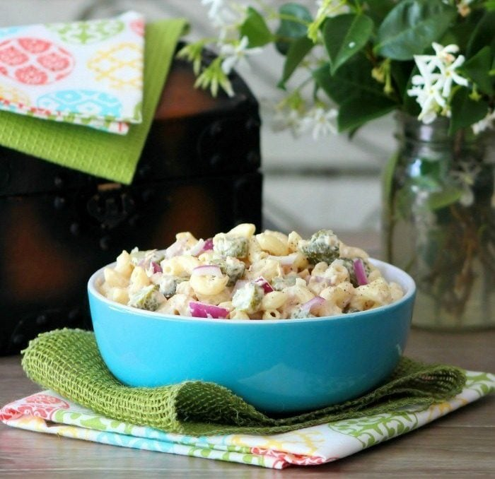 As a small child, I loved my mom's Southern-Style Tuna and Macaroni Salad to a point of no return and then back again. Yes, that's a lot of loving, isn't it? Over the years, I have changed her recipe slightly and it has become more delicious than ever to me.