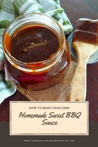 If you love more of a sweet, dark, and thick BBQ Sauce, my Homemade Sweet BBQ Sauce recipe is for you.