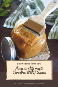 The lifelong feud of the Kansas City BBQ Sauce VS Carolina Style BBQ Sauce continues, as it has since the beginning of BBQ Sauces being marketed. Kansas City Barbecue Sauce or Carolina style Barbecue Sauce lovers say the two shall never meet. Apparently, they are not married to me now, are they?