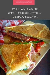 Italian Panini with Prosciutto & Genoa Salami is asimple, filling, and delicious grilled Italian-Style sandwich