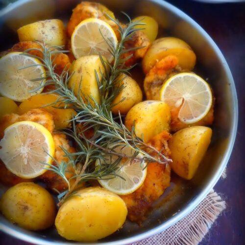 Italian Lemon Rosemary Chicken