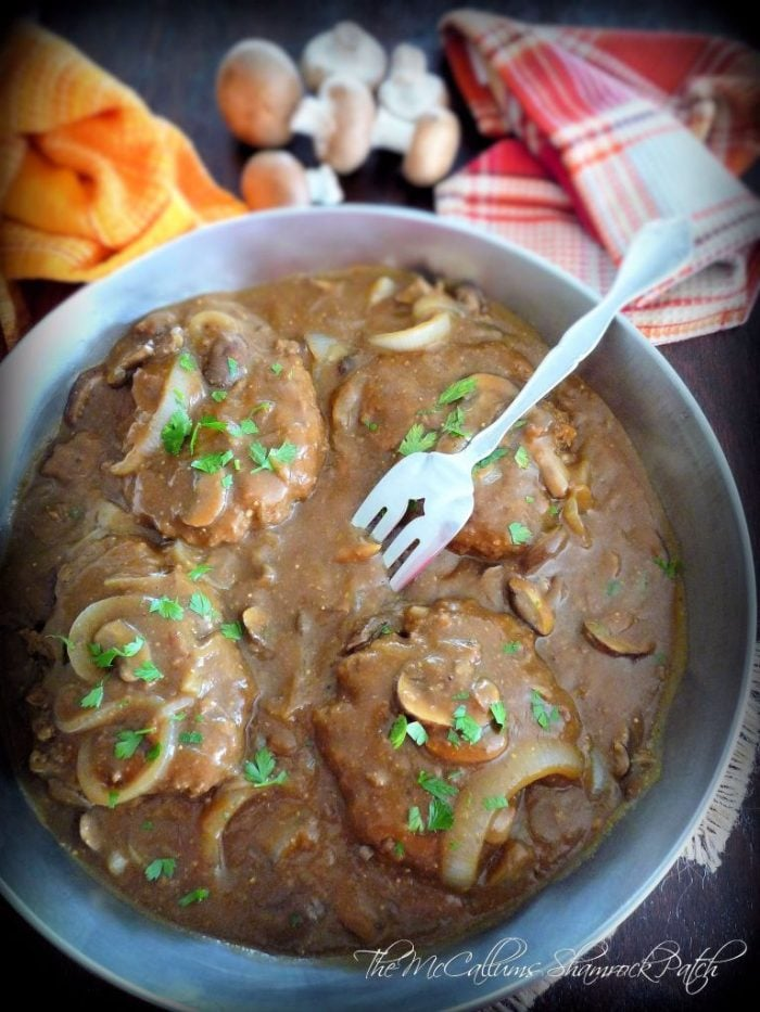 Homemade Salisbury Steak is the melt in your mouth, tender, comfort food from many childhood pasts. I can promise you it will never leave you feeling disappointed. This deliciously, rustic, comfort food has all the flavor you have looked for over the years.