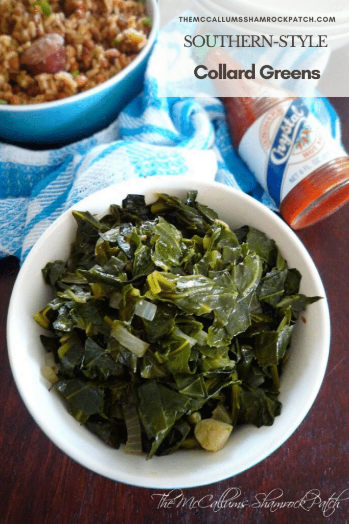 "New Years Day is fast approaching, and if you have Southern Roots, chances are you'll be wanting to make a pot of these lucky nutrient enriched greens called ""Collard Greens"" for a chance at better fortune since the leaves represent folded money in old Southern Folklore."