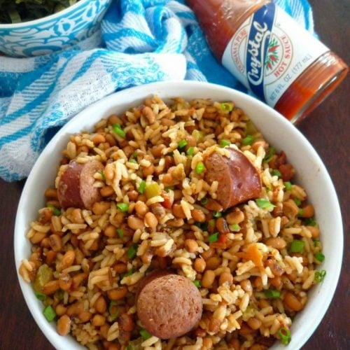 Hoppin' John is one of those classic Cajun dishes that come with as many versions, stories and flavors as there are cooks located in the United States