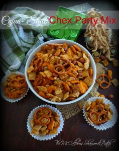 Cajun Style Chex party mix 1