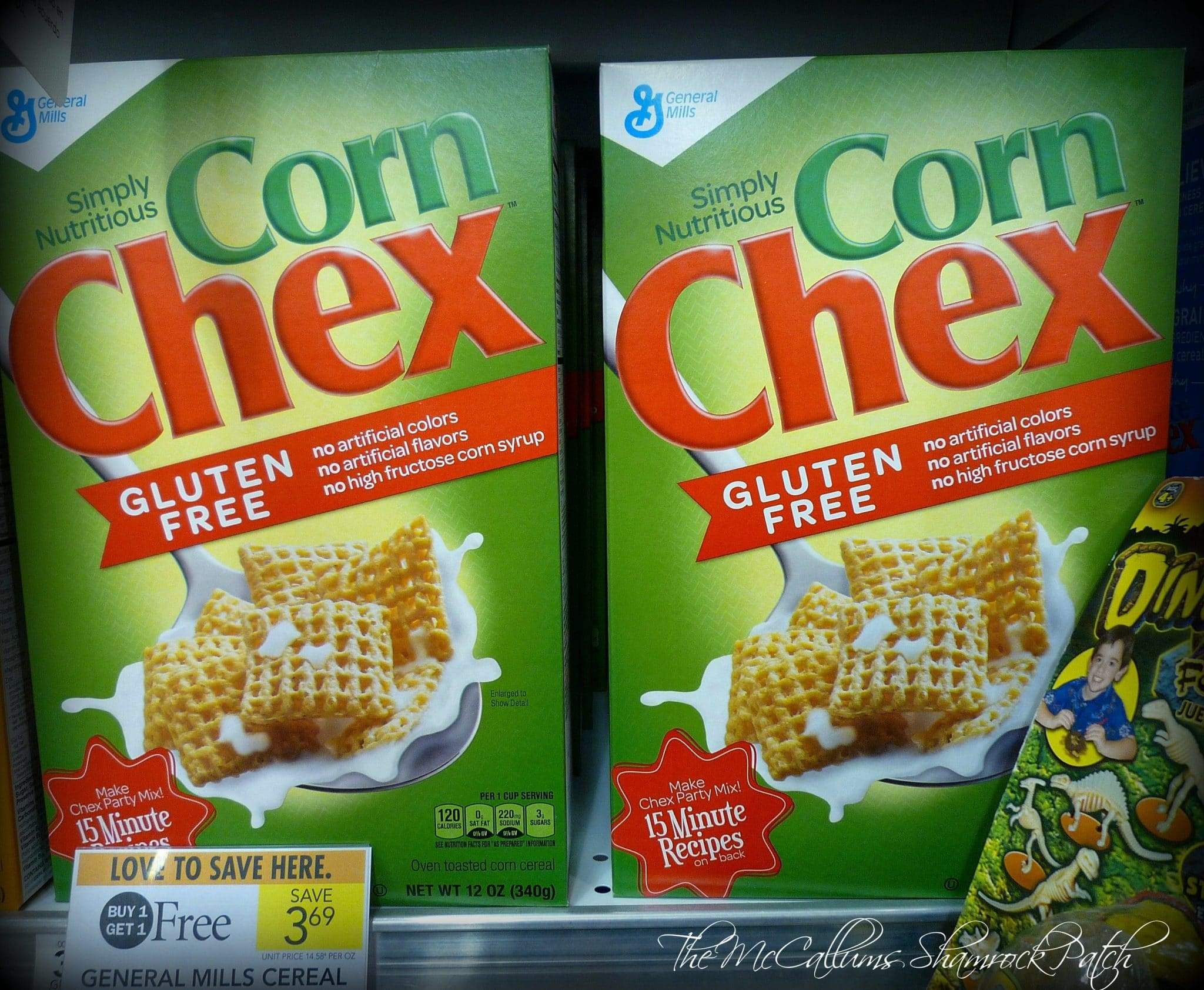 Chex Cereal Sale at Publix
