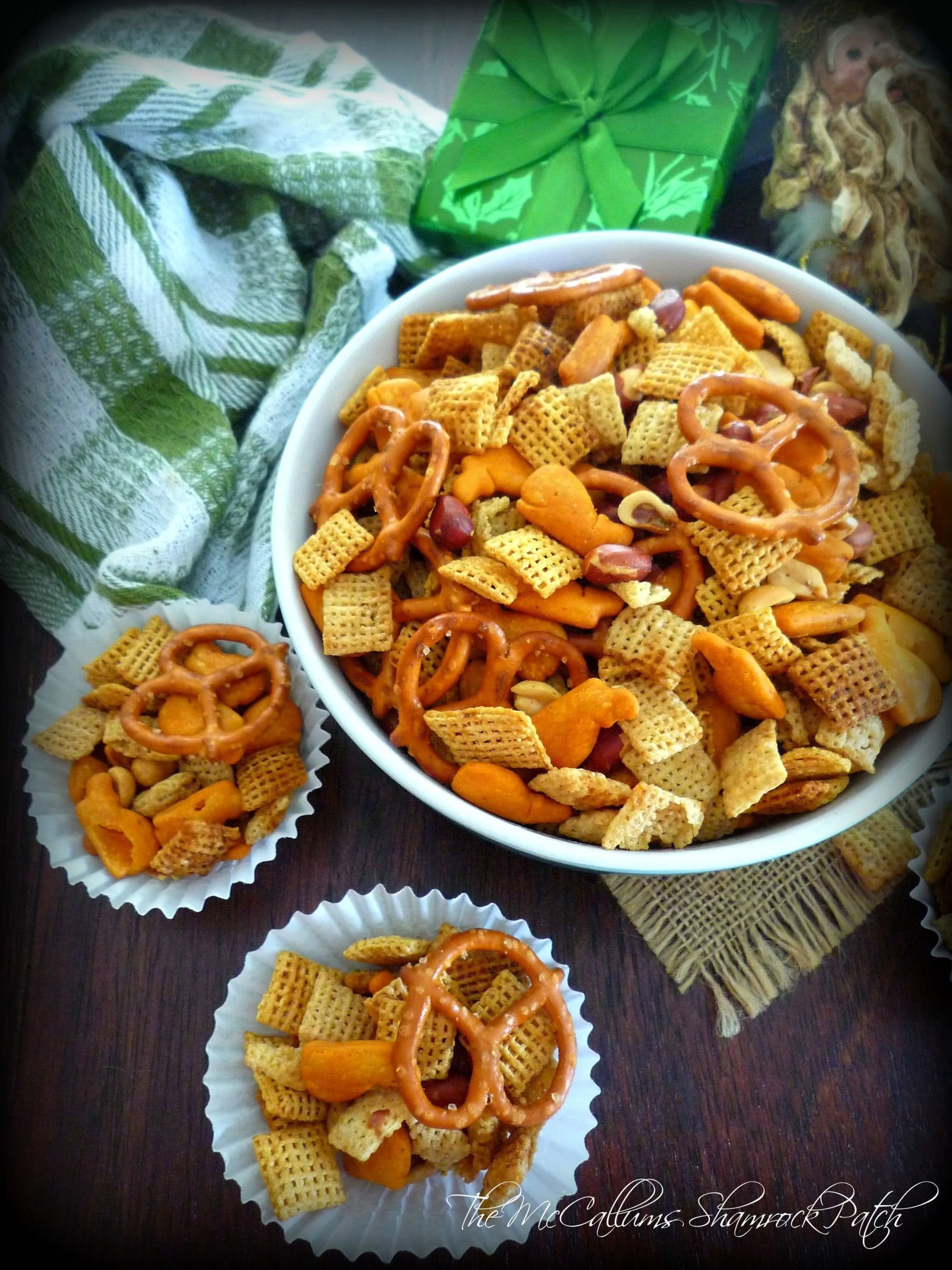 Cajun-Style Chex Party Mix