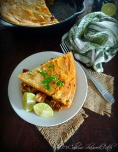 Are you a fan of a more traditional Mexican Tamale, yet hate all that tedious work involved and time spent in the kitchen? You are going to love this recipe then, all the traditional flavors without all the traditional work involved. Made with real homemade Masa Harina dough, shredded chicken, Spanish sauces, and seasonings that will please any tamale lover.