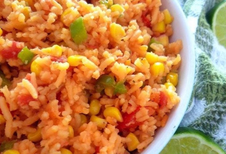 Mexican Rice with Corn