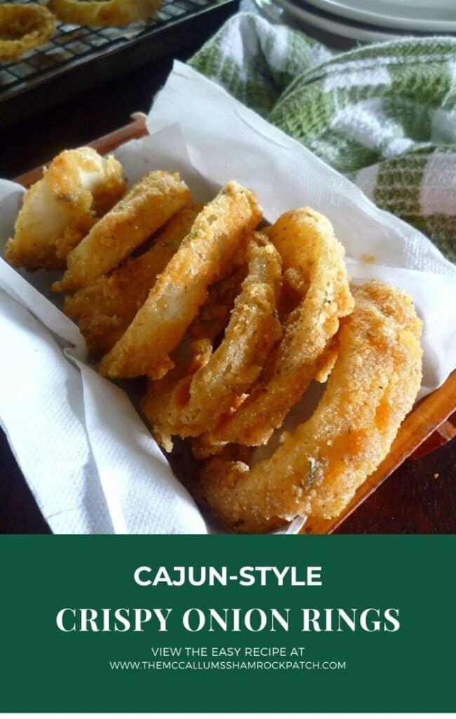 Cajun-Style Crispy Onion Rings