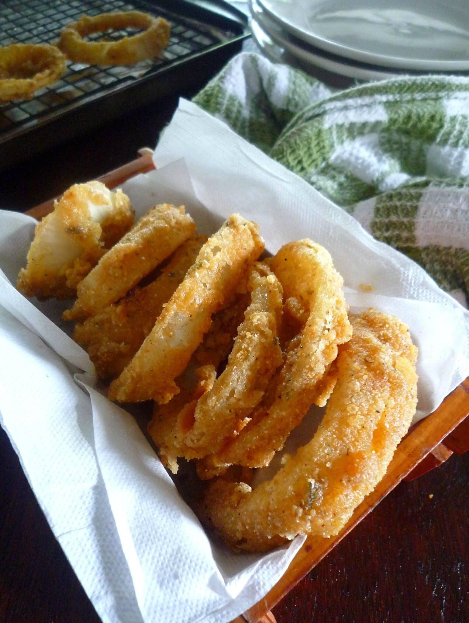 Cajun Style Crispy Onion Rings The Mccallum S Shamrock Patch