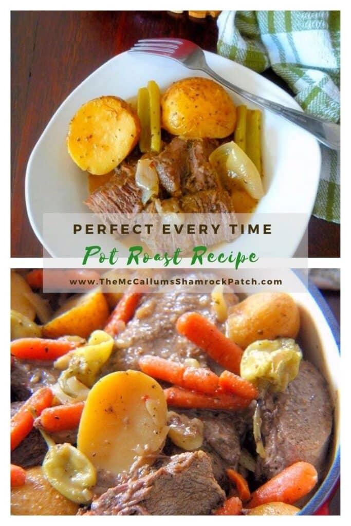 Perfect Every Time Pot Roast Recipe