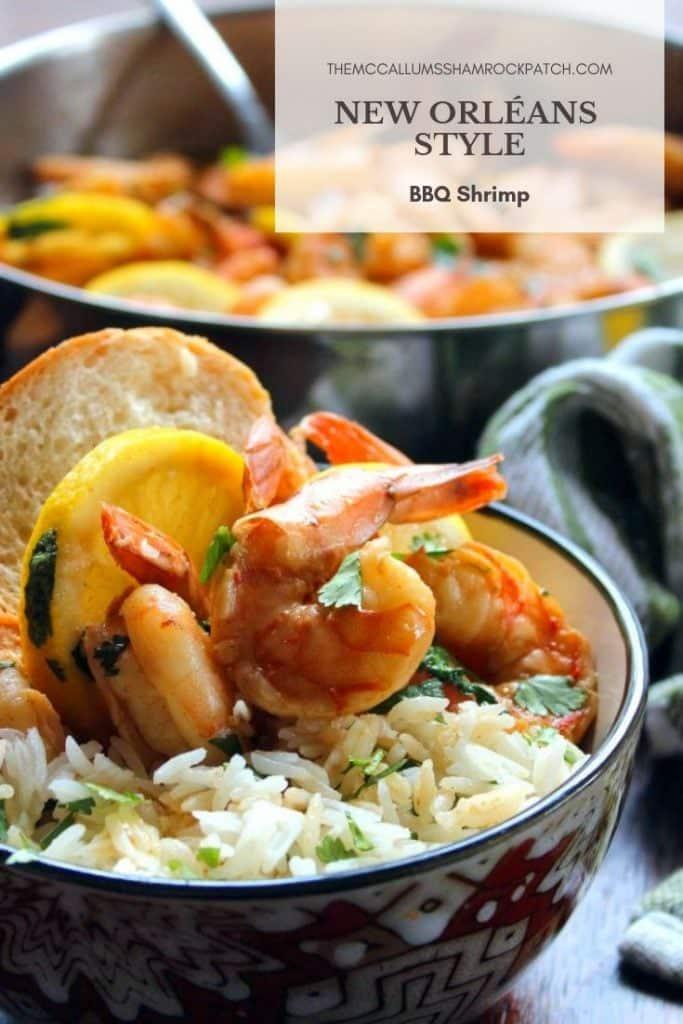 New Orléans Style bbq Shrimp