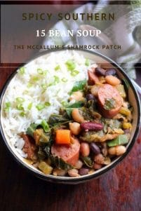 Spicy Southern 15 Bean Soup recipe