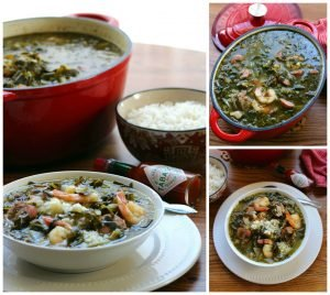 Gumbo z'herbes is  a tricky and controversial subject to many, ask any five people who insist they know what Gumbo z'herbes is, or exactly how Gumbo z'herbes is made, and you'll get at least 5 or more explanations of what it is, and 5 or more different authentic recipes. It's like arguing with 5 diva food artists; their way is the only way because that's the authentic way to make Gumbo z'herbes.