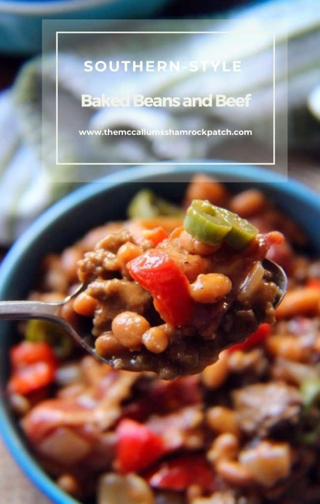 Southern Baked Beans and Ground Beef recipe
