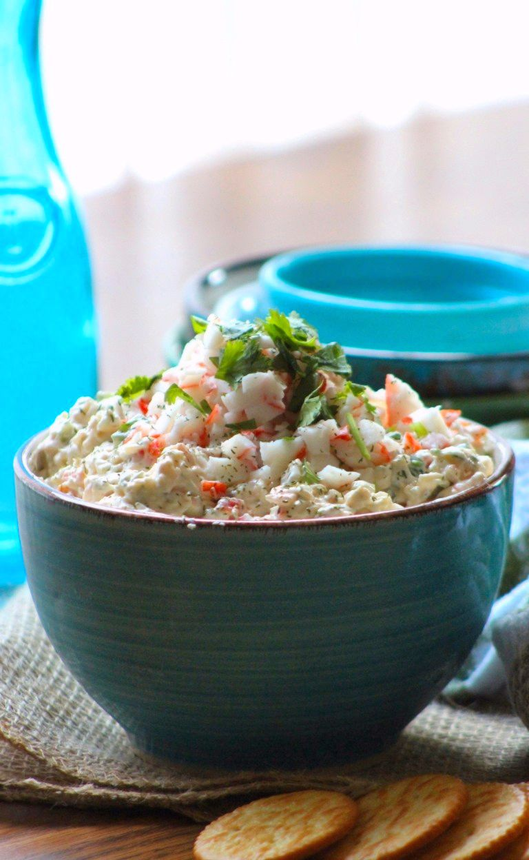 Southern Creamy Crab Dip