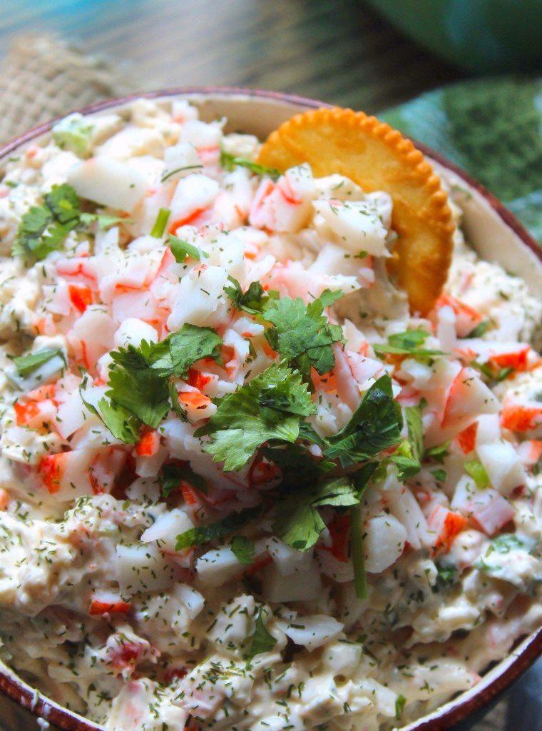 Southern Creamy Crab Dip