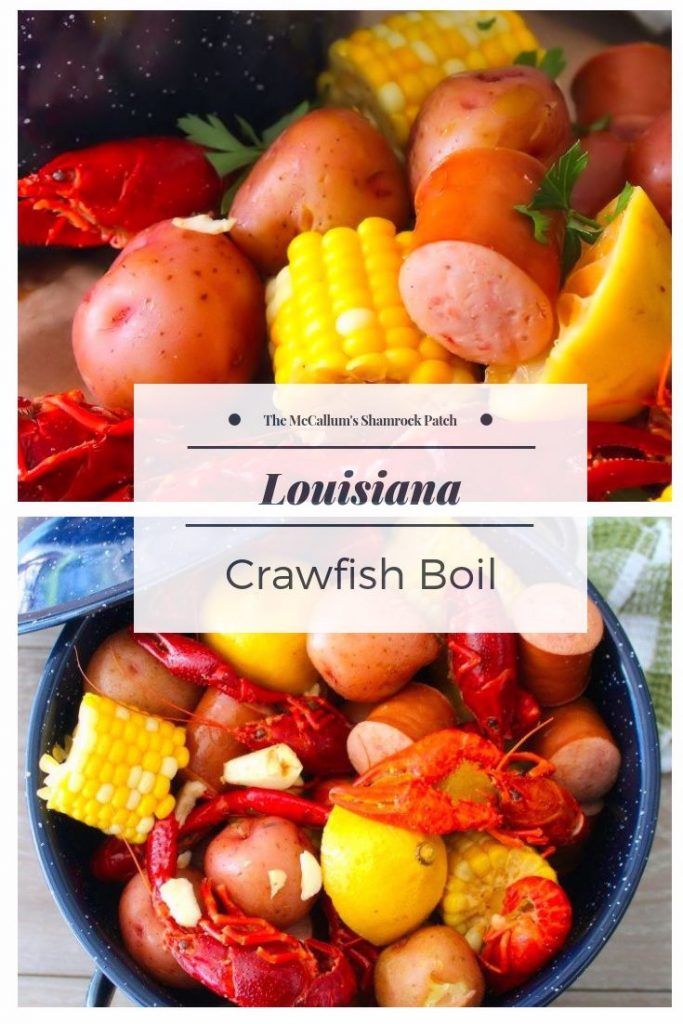 Making a deliciously messy Cajun Crawfish Boil is considered a fine art to many Louisiana folk. Family, friends and next-door neighbors will gather outdoors around newspaper-covered picnic tables, sipping on a cold beer, peeling and eating those tasty crawfish until they are almost delirious from filling their bellies full of spicy Cajun Crawfish Boil.