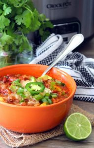 Crock-pot Beer Chili with Beans